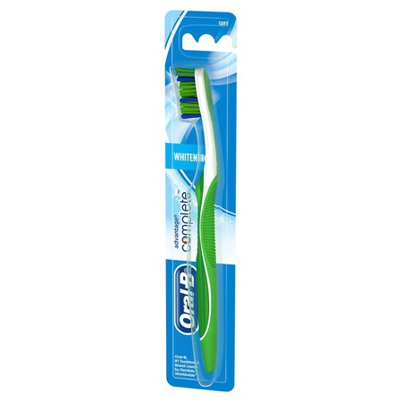 has been clinically proven to remove more plaque than a regular manual toothbrush with its CrissCross bristles, which are angled at 16 to attack plaque from the right angle.  - Removes up to 99% of plaque with perfectly angled CrissCross bristles - Help