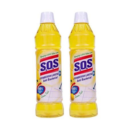 Cairan pembersih lantai yang 99% ampuh membunuh kuman dan membawa kesegaran wangi alam ke dalam seisi rumah Anda. SOS Anti Bacterial Pembersih Lantai tersedia dalam varian pembersih lantai, marmer dan karbol.
