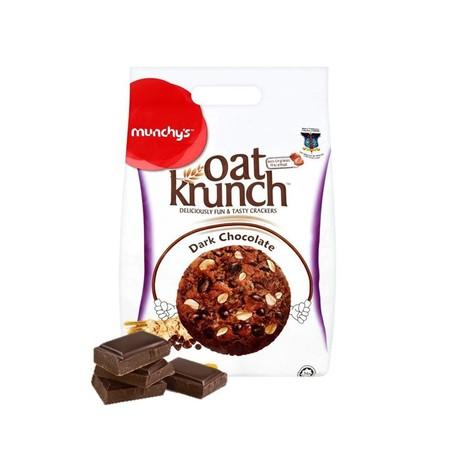 Munchys Oat Krunch Chocolate 416Gr Munchys Oat Krunch Chocolate 416Gr MerupakanBiskuit Dengan Rasa Chocolate Yang Lezat Karena Dibuat Dengan Bahan-Bahan Yang Berkualitas Sehingga Menghasilkan Tekstur Yang Renyah. Biskuit Ini Juga Terasa Lebih Mantap Ji
