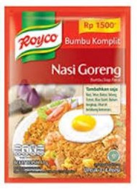 Royco Bumbu Komplit Adalah Racikan Lengkap Bumbu Dan Penyedap Pilihan Dengan Takaran Yang Pas, Menjadikan Masakan Favorit Keluarga Ibu Lezat, Setiap Saat!