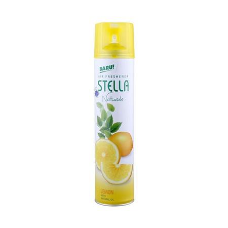 Stella Air Freshener Naturals Lemon Adalah Pengharum Ruangan Yang Dikemas Dalam Bentuk Aerosol, Yang Memberikan Suasana Menyegarkan.