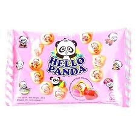 Meiji Hello Panda Biskuit Stick strawberry [20 g] adalah biskuit stick strawberry yang renyah dibuat dengan cara dipanggang. Biskuit ini juga terasa lebih mantap jika dinikmati bersama kopi, teh, atau susu kesukaan Anda di pagi atau sore hari.