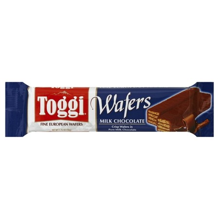 Treat yourself to the goodness of imported Toggi Fine European Wafers. We use only all natural ingredients for an indulgence you'll want to enjoy again and again. Toggi...The European Treat. Wafers, Fine European, Milk Chocolate. Crisp wafers in pure mi