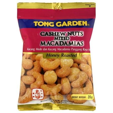 Kacang Mede dan Kacang Macadamias Panggang Rasa Madu