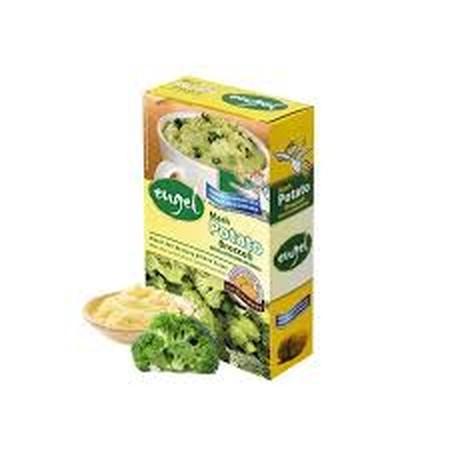 Instant Mashed Potato Dengan Variant Yang Cukup Banyak Dan Menyehatkan. Paket Tepung Kentang Instan Dan Brokoli. Tidak Perlu Dimasak Cukup Tambahkan Air Panas Saja. Komposisi Potatoes, Vegetable Oil, Lactose, Iodized Salt, Broccoli, Onions, Milk Protein,