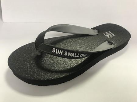 Slipper Sun Swallow adalah Alas kaki Pria berbahan karet yang lentur dan nyaman untuk keperluan sehari hari ataupun Tracking , size 10.5