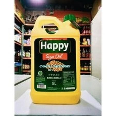 Happy Soya Oil merupakan minyak kedelai yang diformulasi bebas kolesterol sehingga membantu Anda menghasilkan hidangan yang sehat bagi keluarga sekaligus membantu menjaga kadar kolesterol dan kesehatan jantung. Dibuat menggunakan kedelai pilihan berkualit