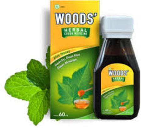 Woods' Herbal, obat batuk berasal dari bahan-bahan alami dengan rasa yang enak. Woods' Herbal terbuat dari bahan-bahan alami, yakni madu, daun ivy, dan daun meniran yang sangat efektif mengobati batuk. Selain itu, obat ini berfungsi meningkatkan daya taha