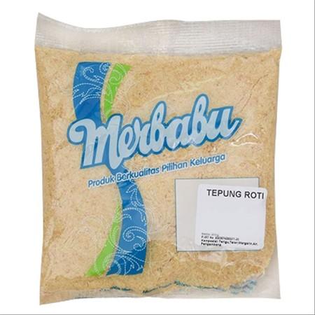 Tepung roti putih (Bread Crumb White) untuk digunakan sebagai lapisan risoles, kroket, ebi furai, dan makanan lain yang membutuhkan tekstur crumb diluarnya.