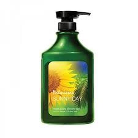 Palmieros Shower Gel Sunny Day with Sunflower Oil & Aloe Vera Kesederhanaan hidup yang murni dan alami. Persembahan dari alam untuk tubuh anda. Palmieros selalu menggunakan bahan-bahan terbaik dan menyajikannya untuk anda. Ceriakan hari anda dengan Palmie