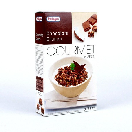 Briiggens Gourmet Muesli Chocolate Cereal Snack Sereal Coklat Cokelat Sehat Import 375Gr. Brggen`S Range Of Gourmet Mueslis, Packed With Essential Nutrients And Energy, Make An Important Contribution To A Well-Balanced Diet Day After Day. For An Enjoyable