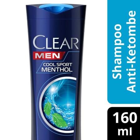 Clear Men Shampoo Cool Sport Menthol Merupakan Shampo Anti Ketombe Generasi Baru Dengan Taurine + Triple Ad Technology Yang Dilengkapi Dengan Komponen Protein & Vitamin B3. Diformulasikan Khusus Untuk Pria Yang Memberikan Sensasi Rasa Dingin Menyegarkan U