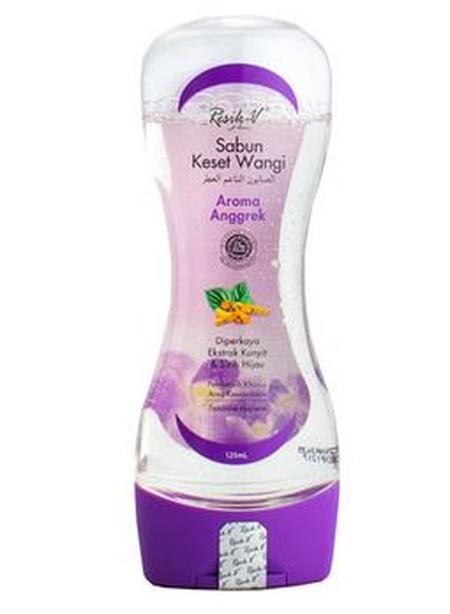 Resik-V Sabun Keset Wangi Anggrek 125ml adalah sabun sirih alami yang diformulasikan dengan Ekstrak Kunyit dan Ekstrak Daun Sirih Hijau. Sabun ini berkhasiat untuk membantu membersihkan organ intim wanita bagian luar dan mengurangi bau tak sedap.
