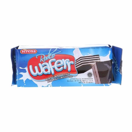biskuit dengan isi krim coklat yang kelezatannya dan kerenyahannya pasti pas di lidah anda. Kualitas rasanya cocok menjadi pilihan untuk acara istimewa keluarga anda.