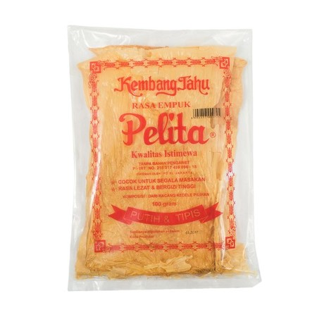 """Soft, Tender And Fragrant """"Kembang Tahu"""". From Natural Ingredients Imported Soybeans And Without Preservatives  This Type Of Food That Is Sometimes Difficult And Rarely Found In Today Is Now Available In Packs. This Type Of Food Is Very Popular With Some"""