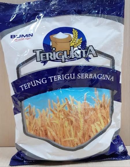 Tepung terigu serbaguna untuk berbagai macam olahan makanan mengandung vitamin, protein, zat besi, seng, tiamin, riboflatin, dan Asam Folat