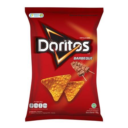 Rasakan ledakan rasa dari Doritos Keripik Tortilla rasa Barbekyu. Rasa BBQ kami dibuat dengan perpaduan antara rasa manis dan gurih yang sempurna yang dapat dinikmati di setiap gigitan yang renyah