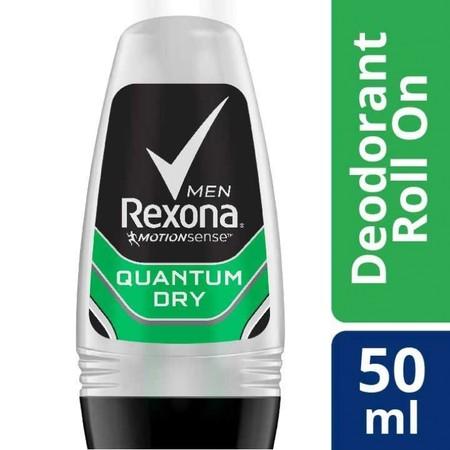 Rexona Men Anti-Perspirant Deodorant Roll On Quantum Memberikan Perlindungan Dan Kesegaran Dengan Kombinasi Wangi Jeruk Segar, Rempah-Rempah, Dan Kayu Untuk Mengatasi Bau Badan. Setiap Gerakan Berarti Ketika Kamu Berhadapan Dengan Waktu Dan Ketika Kamu Ha