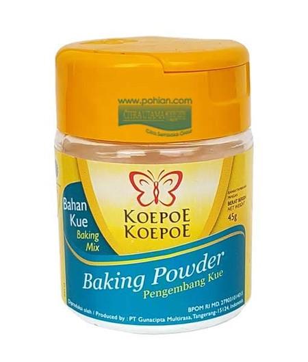Cake Akan Mengembang Dengan Indah Dan Memiliki Tekstur Yang Ringan Dengan Bantuan Baking Powder Koepoe Koepoe
