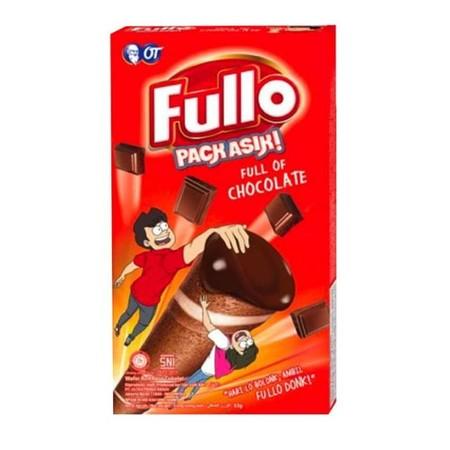 Merupakan Wafer Roll Dengan Cream Cokelat Yang Full, Cocok Dinikmati Saat Santai Di Rumah Ataupun Saat Berpergian.