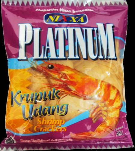 Krupuk Nixxa Premium memiliki kadar udang sedang & rasa sedikit manis.