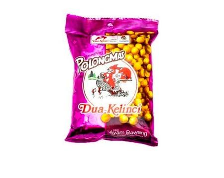 Terbuat Dari Kacang Segar Pilihan Yang Diproses Dengan Teknologi Modern Untuk Menghasilkan Kacang Yang Renyah Dan Gurih. Kacang Dua Kelinci Mengandung Lemak Nabati Sebagai Suplemen Nutrisi Dan Sumber Energi Dan Protein Yang Baik.