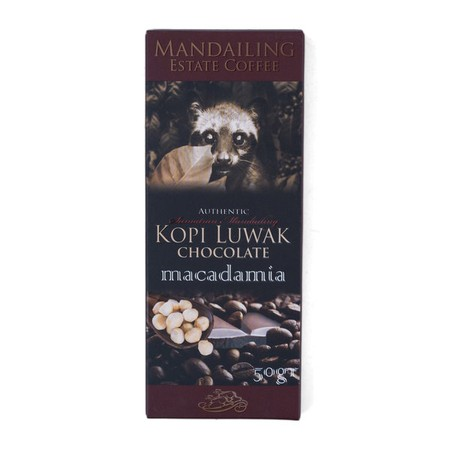 Combination of Finest Luwak Coffee and Bali's Cacao with Macadamia