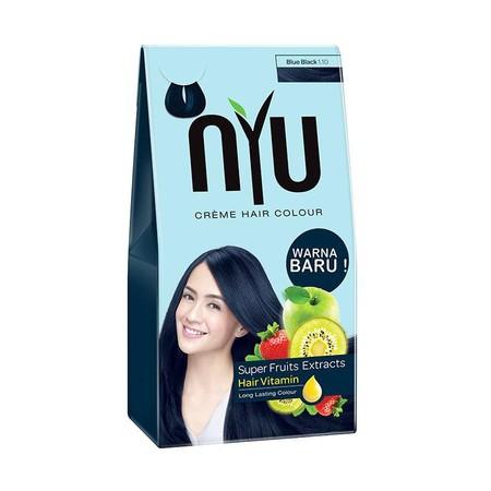 NO AMONIA Super fruits extracts hair vitamin pewarna rambut tanpa amonia pertama dlm kemasan sachet yg sempurna menutup uban. Tanpa rasa takut akan kerusakan pada rambut. Peringatan : pewarna rambut tidak di perbolehkan bagi umur di bawa 16 thn.