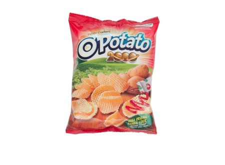Potato Crackers with Original and Tomato Chili Sauce Flavor
