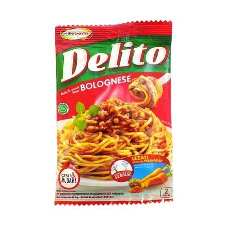 Delito adalah Saus Pasta Instan dengan 2 varian, Aglio Olio dan Bolognese, dibuat dengan rempah pilihan berkualitas dan disertai dengan bahan pelengkap, memberikan cita rasa selezat restoran Italia dengan cara yang praktis.