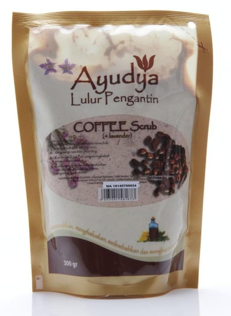 Ayudya Lulur Pengantin Coffee Scrub