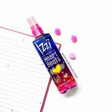 Izzi Fine Fragce Mist meurpakan spray tubuh yang Memberikan keharuman pada tubuh sepanjang hari dan menambah kepercayaan diri.