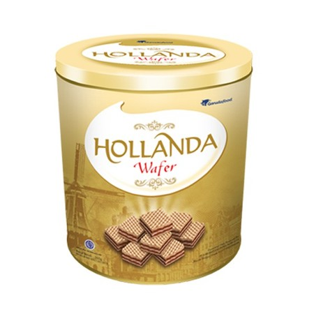 Wafer Krim Renyah Dengan Coklat Khas Gery