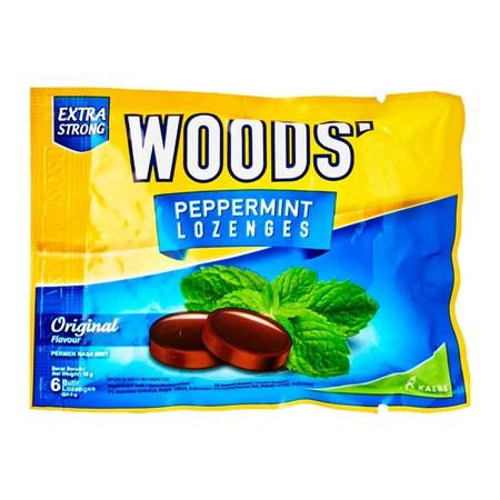 Woods' Lozenges Original Adalah Permen Yang Digunakan Untuk Melegakan Dan Meringankan Rasa Sakit Di Tenggorokan.