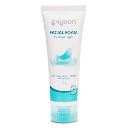 Facial Foam. Kandungan Bahan Alami Yang Lembut Untuk Membersihkan Wajah Dari Debu, Kotoran Dan Sisa Make Up. Mengandung Ekstrak Jojoba Yang Membantu Menjaga Kelembapan Kulit Dan Ekstrak Chamomile Untuk Menyejukkan Dan Membantu Melindungi Kulit Dari Iritas