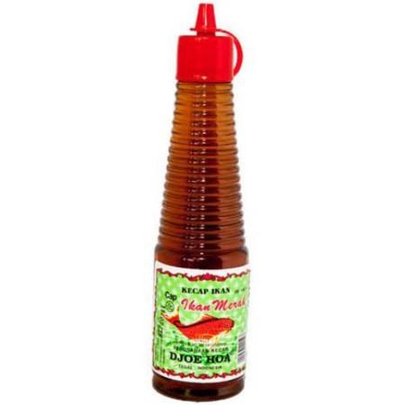 Djoe hua adalah kecap asin Cap ikan merah. Bumbu ini dipakai khusus masakan Goreng seperti Nasi Goreng, mie goreng Bihun Goreng Kwetiow Goreng Dll. Cocok sekali untuk masakan Seafood dan chinese food. menambah selera hidangan anda menjadi lebih sedap