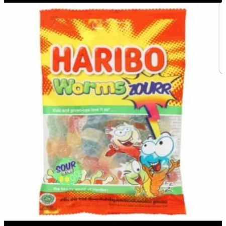 Haribo Worms Zourr Love By The Kids And Grown Ups