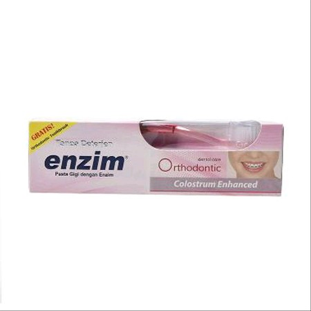 Varian ini merupakan pasta gigi tanpa deterjen yang diformulasikan khusus untuk pengguna kawat gigi, untuk membantu mengatasi masalah yang timbul, terutama pada awal pemakaian kawat gigi.  Enzim Orthodontic mengandung bahan abrasif yang rendah namun mempu