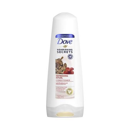 Dove Refreshing Ritual Shampoo [160 mL] merupakan shampoo yang terinspirasi dari ritual perawatan rambut wanita yang Halal dari Timur Tengah dengan formula yang mengandung Oud Scent dan Hibiscus Oil, mengurangi rambut rontok, membersihkan dan menyegarkan