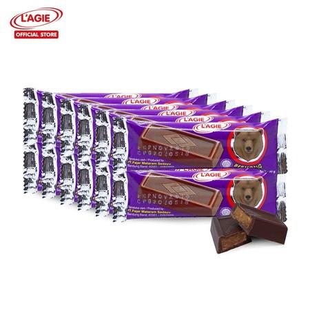 Cokelat batang berbentuk mungil dan ringan berisi nougat (karamel) ini dikemas dalam bungkus bergambar hewan beruang. Cokelat klasik ini termasuk kategori cooking chocolate atau sering disebut chocolate compound yang komposisinya terdiri dari gula, essens