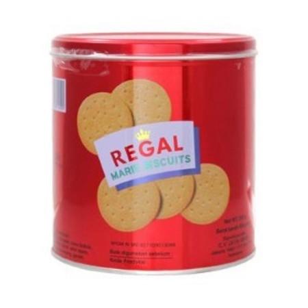 Sejak tahun 1952, Regal telah menjadi brand biskuit Marie nomor 1 di Indonesia. generasi turun temurun telah menikmati kerenyahan dan kelezatan biskuit Marie Regal. Biskuit ini sangat cocok untuk dicelup dalam susu, teh atau kopi. Dibuat dari bahan-bahan
