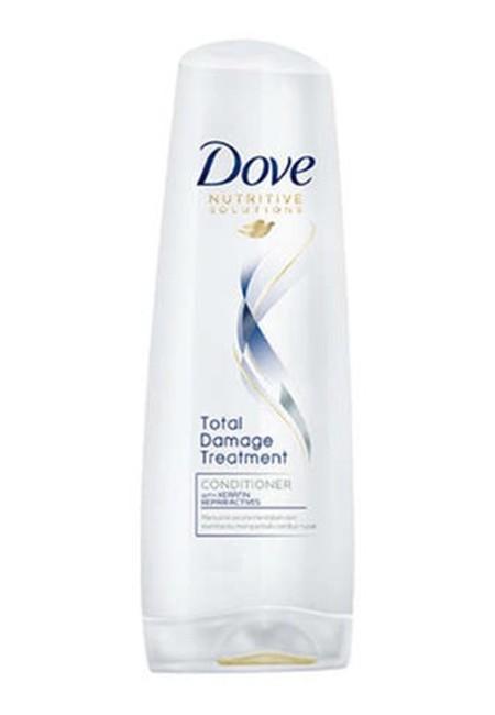 Dove Total Damage Treatment Conditioner Dengan Keratin Repair Actives. Secara Langsung Memperbaiki Permukaan Rambut Dan Menutrisinya Secara Mendalam, Sehingga Rambut Senantiasa Sehat.  Di Setiap Pemakaian, Rambutmu Senantiasa Ternutrisi, Kuat Dan Indah.