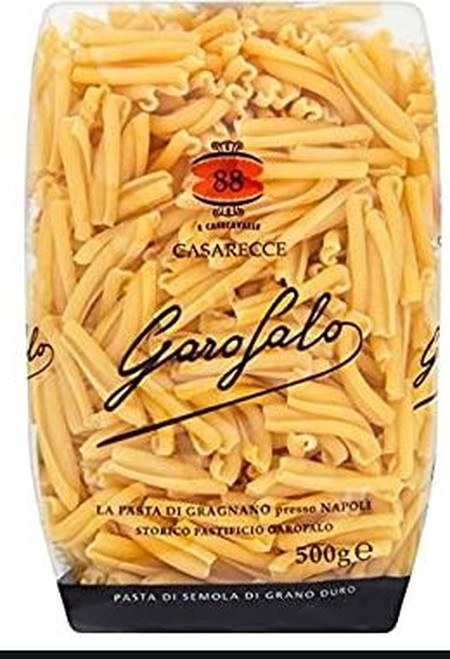 Rolled And Curved Towards The Tip, With A Hint Of Artisan Craftsmanship Already In Their Name, Garofalo Gluten Free Casarecce Have The Rough Consistency Of Bronze Drawn Pasta. The Folded Shape Holds Condiments For An Explosion Of Flavour With Each Bite. T