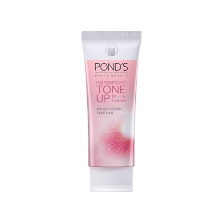 Terinspirasi Teknologi Dari Korea, Tone Up Cream Pertama Dari Pond'S Dengan Milk Essence Untuk Kulit Tampak Cerah Seketika Bahkan Tanpa Make Up Foundation.