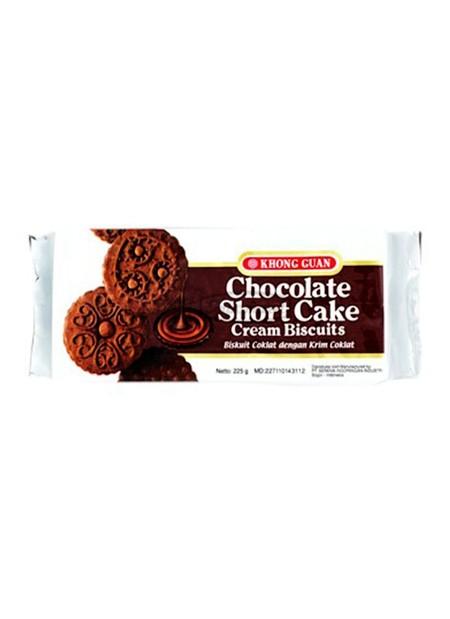 biskuit coklat dengan krim coklat yang lezat. biskuti berenergi buat semua ya g berjiwa muda.