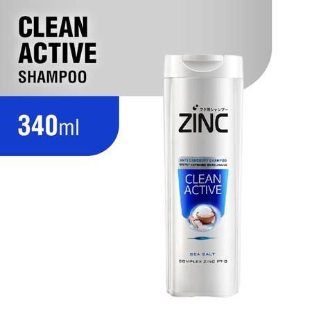 Zinc Anti Dandruff Shampoo, Dengan Improved Formula Complex Zpt - O Dari Inovasi Jepang, Mengatasi Ketombe Sampai 99% Dan Mencegah Ketombe Datang Lagi. Menyerap Kedalam Kulit Kepala Hingga Akarnya, Menjadikan Kulit Kepala Segar, Rambut Bebas Ketombe, Lemb