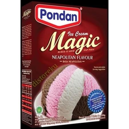 Bahan Premiks Untuk Membuat Ice Cream Neopolitan