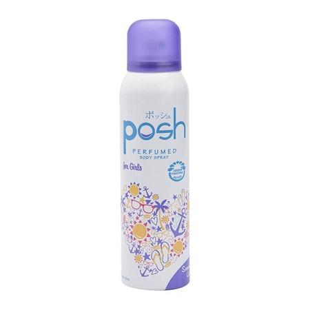 Posh Body Spray Summer Love 150Ml Merupakan Body Spray Dengan Memiliki Perlindungan Anti Bacterial Untuk Membunuh Kuman Penyebab Bau Badan