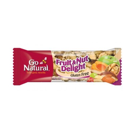 Our Fruit And Nut Delight Energy Bar Is A Delightful Blend Of Fruits And Nuts, Making This Bar Hard To Resist! Packed With 6.2G Protein And 5.4G Fibre, Each Deliciously Healthy Snack Bar Contains Vitamins And Minerals For:  Healthy Bodies Good Source Of F