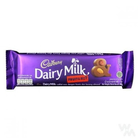 A Mouth-Watering Combination Of Crunchy Almonds And Delicious Dried Grapes All Engulfed In Cadbury Dairy Milk Milk Chocolate To Make A Chocolate Bar Like No Other!